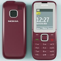 Nokia C2-00 2sim chính hãng thay vỏ linh kiện mới gồm máy pin sạc