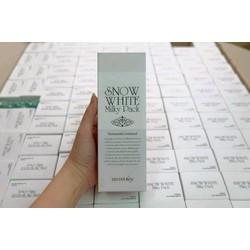 Kem tắm trắng mặt và toàn thân Snow White Milky Pack Secret Key
