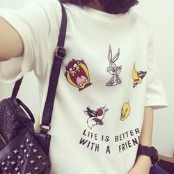 ÁO THUN LIFE IS BETTER