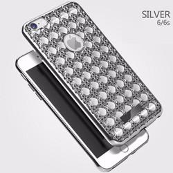 Ốp lưng 3D pha lê hạt nổi dành cho iphone 5-5S-6-6s-6Plus