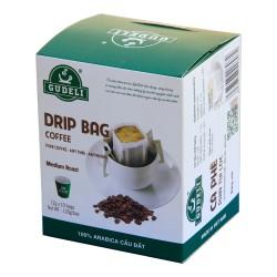 CÀ PHÊ PHIN TÚI LỌC Arabica Cầu Đất GUDELI Coffee