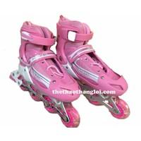 giày trượt patin hồng