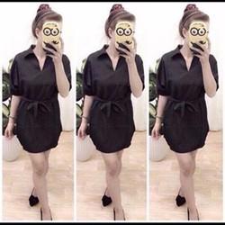 ms 668 - Set áo váy cột nơ