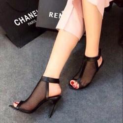 HÀNG NHẬP CAO CẤP - Giày cao gót lưới sang trọng