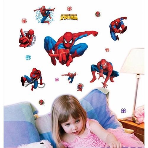 Giấy dán tường người nhện spider man