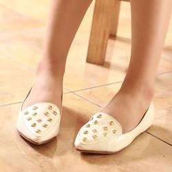 Giày búp bê giá rẻ G-603 Trắng
