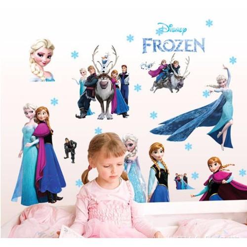 Giấy dán tường công chúa ELsa và Anna