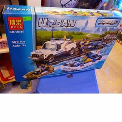 LEGO xếp hình URBAN Cảnh Sát  409 pcs