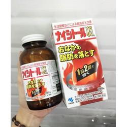 Viên uống giảm mỡ bụng Naishitoru 85a Kobayashi Pharmaceutical