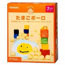 Bánh ăn dặm Wakodo của Nhật dành cho bé từ 7 tháng vị trứng