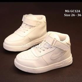 Giày thể thao dáng cổ cao cho bé trai 3 - 12 tuổi GC12A - GC12A-Trang