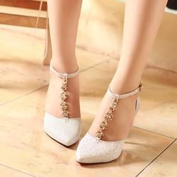 Giày cao gót 7cm đẹp G-356