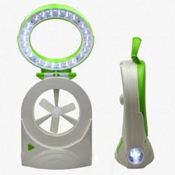 Quạt tích điện Comida 3 trong 1 quạt mát, chiếu sáng, đèn pin
