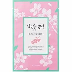Mặt nạ Missha cherry blossom Something Sheet Mask Pack 21g MS01