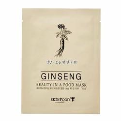 Mặt Nạ Dưỡng Da Skinfood Beauty In A Food Mask Sheet Ginseng SK03