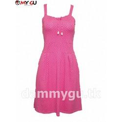 Đầm xòe trẻ trung, xinh xắn MY GU D117 - Họa tiết 1