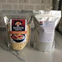 yến mạch quaker oats cán mỏng 1kg