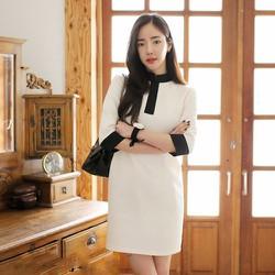 Đầm công sở phong cách Hàn Quốc