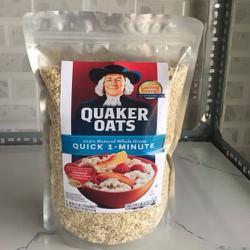 yến mạch quaker oats cán vỡ 1kg