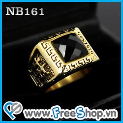 Nhẫn đá cao cấp NB161- BH vĩnh viễn ko đen