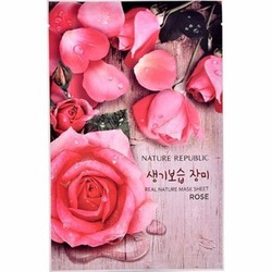 Mặt nạ Nature Republic Real Nature Rose Mask Sheet NR08