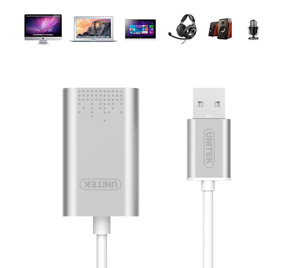 USB Sound âm thanh chính hãng Unitek Y-247 6