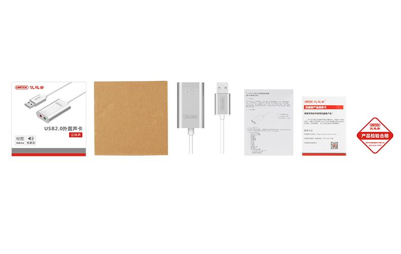 USB Sound âm thanh chính hãng Unitek Y-247 3