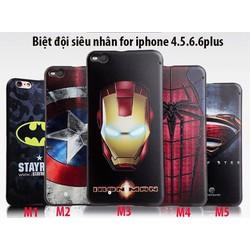 Ốp lưng biệt đôi siêu anh hùng avenger cho iphone 6 độc đáo