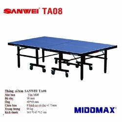 Bàn bóng bàn Sanwei TA-08