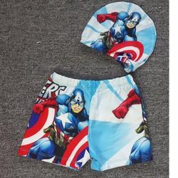 Đồ bơi siêu anh hùng kèm nón size đại NX472