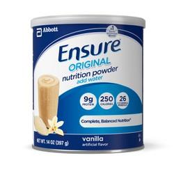 SỮA ENSURE ORIGINAL NUTRITION POWDER