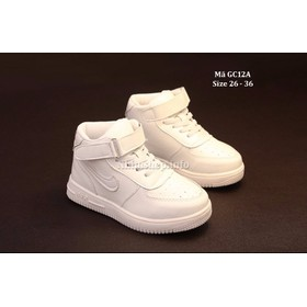 Giày bé gái cổ cao - Giày bé gái sneaker - Giày bé gái GC12A - GC12ATRANG