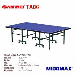 Bàn bóng bàn Sanwei TA-06
