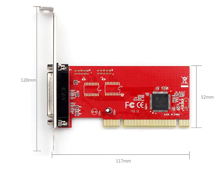 Card chuyển đổi PCI to LPT chính hãng Unitek Y-7505 2