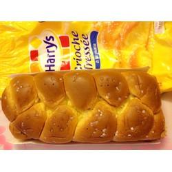 Bánh mì hoa cúc Harrys brioche tressée  cực thơm ngon 515gr Pháp