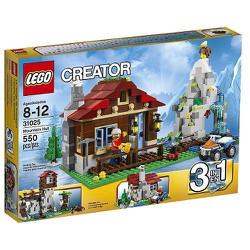 Bộ đồ chơi Lego Creator 31025 mô hình nhà trên núi