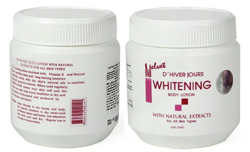 Kem Body Lotion Whitening Velvet Thái Lan 3