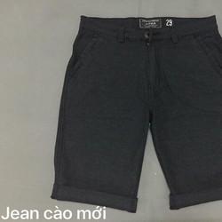Quần short jean nam vải cào về hàng new