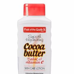 SỮA DƯỠNG THỂ COCOA FRUIT OF THE EARTH Tặng kem dưỡng mặt 21g