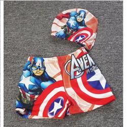 Đồ bơi siêu anh hùng kèm nón size nhí NX471