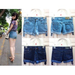 Quần Short Jean Lưng Cao Ngọc Mon NA-QS10