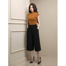 Bộ quần áo ống rộng lửng thiết kế trẻ trung, tuyệt đẹp M3909