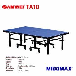 Bàn bóng bàn Sanwei TA-10