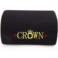 Loa crown 6 Đế Âm Thanh Lớn - dây AV + Remot + dây xài bình ac quy