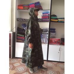 áo mưa quân đội Tân Vân Rain Coat | áo mưa cao cấp | áo mưa vải dù