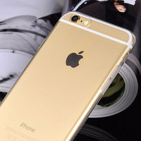 ỐP iphone 6, 6S HOCO DẺO TRONG SUỐT