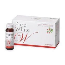 Nước uống làm trắng da Pure White Shiseido Nhật Bản