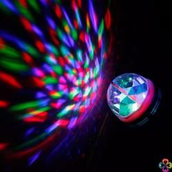 bộ 02 Đèn LED XOAY 7 MÀU