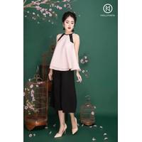 Sét áo yếm cột dây + quần ống rộng
