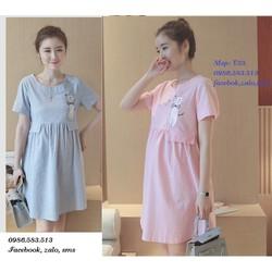 Đầm bầu kiểu dáng Hàn Quốc